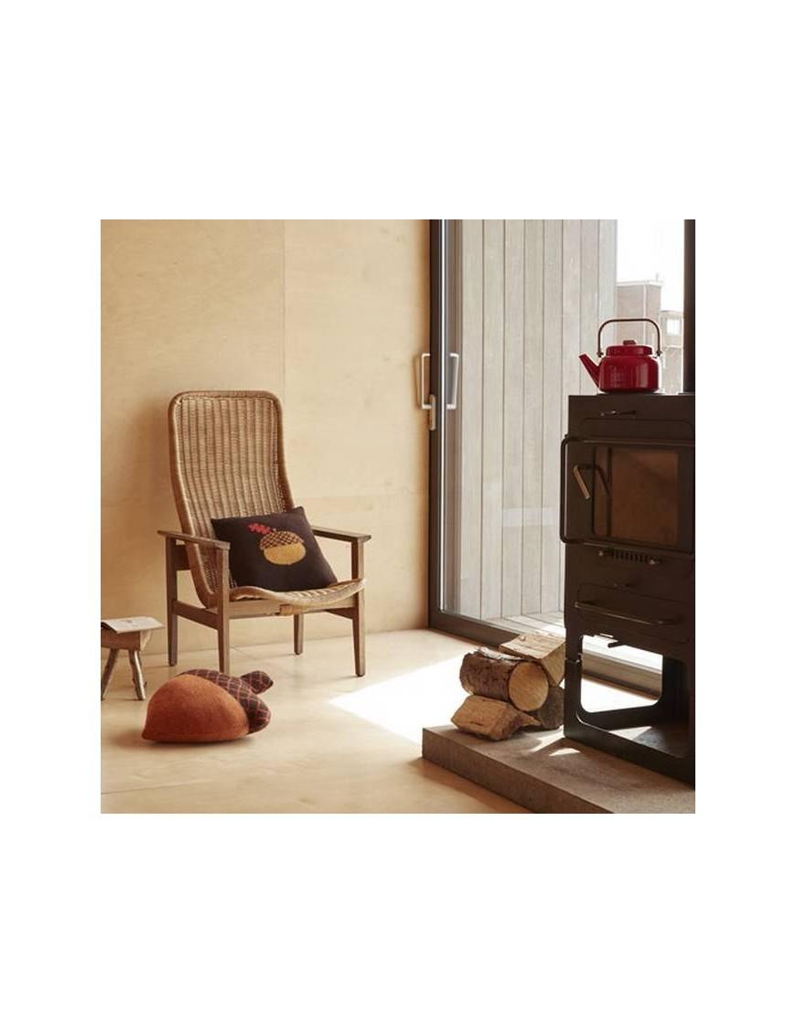 Donna Wilson - cushion acorn : brown