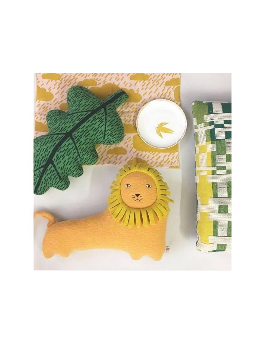 Donna Wilson - cushion leaf : green
