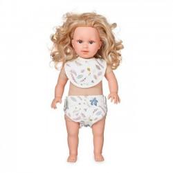 CamCam Copenhagen - Doll's Bib & Diaper - OCS : pressed leaves