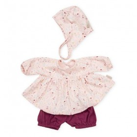 CamCam Copenhagen - Doll's clothing set: fleurs