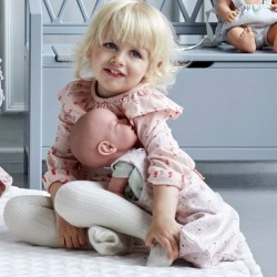 CamCam Copenhagen - Doll's sleeping bag: fleurs