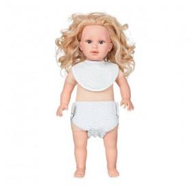 CamCam Copenhagen - Doll's Bib & Diaper: Grey waves