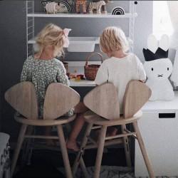 Chaise junior Mouse chêne - hauteur réglable