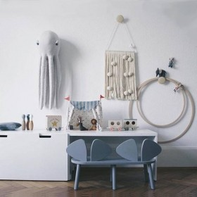 """Nofred - bench """"mouse"""": grey"""