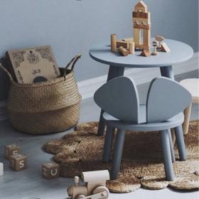 """table enfant grise """"Mouse"""""""