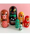 Poupées russes carnaval - Matryoshka Ingela Arrhenius /Omm Design
