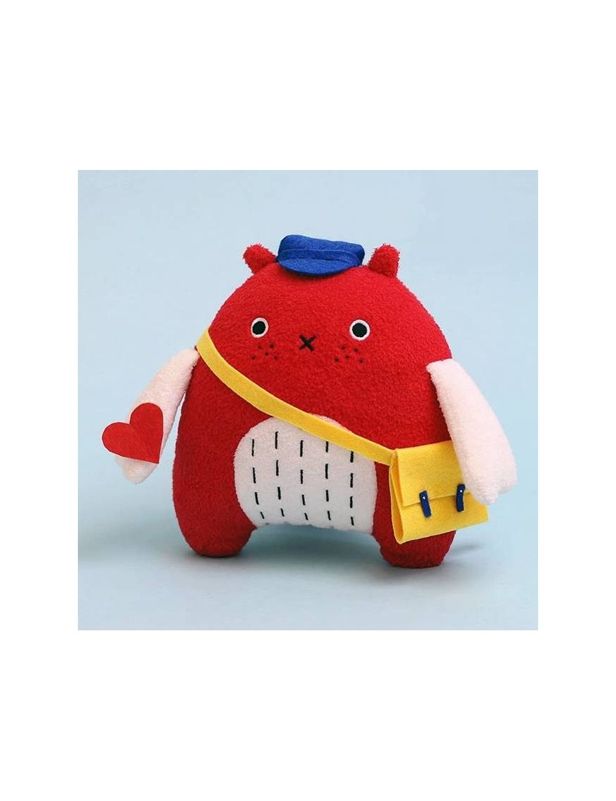 noodoll plush toy 'do' bird - red