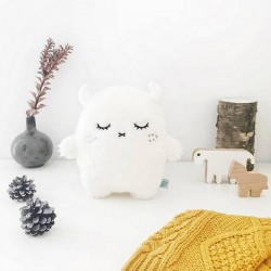 "Noodoll coussin ""ricepuffy"" blanc"
