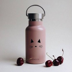 "Liewood - water bottle ""Anker"", cat rose"