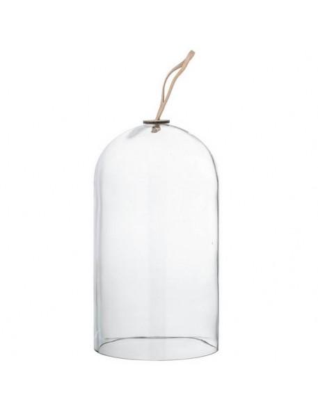 Bloomingville - Dôme en verre transparent Ø14xH25 cm