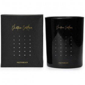 """Victorian candle """"Christmas countdown"""" (45h)"""