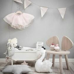 Smallstuff Rosaline doll bed - white