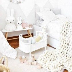 Smallstuff Rosaline doll bed - white