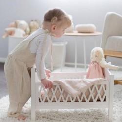 """Cam Cam Copenhagen - lit de poupée """"harlequin"""": blanc"""