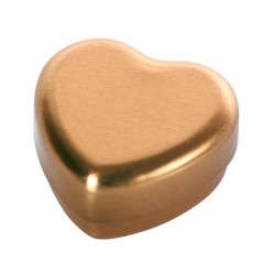Small heart box, gold - Maileg