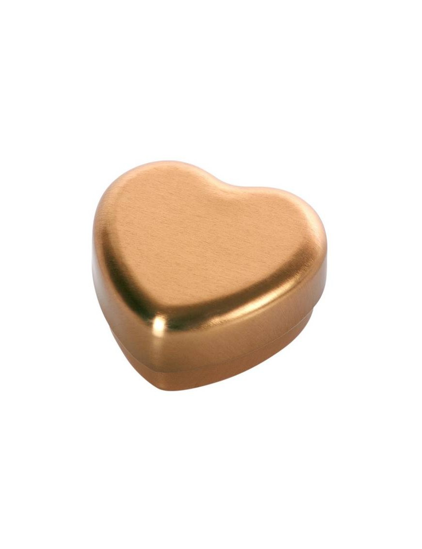 Small heart box, gold - Maileg