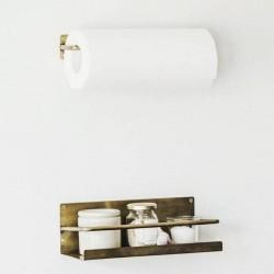 Brass kitchen paper holder - FOG LINEN WORK