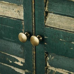 brass knob - (3 sizes) - FOG LINEN WORK