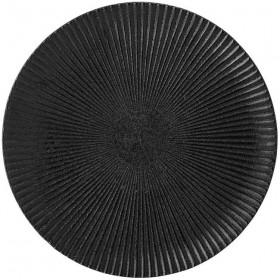 Grande assiette grès noir, Neri Ø29 cm - Bloomingville