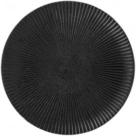 """BLOOMINGVILLE - black plate """"Neri"""" Ø29 cm"""