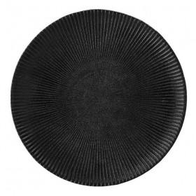 """BLOOMINGVILLE - black plate """"Neri"""" Ø23 cm"""