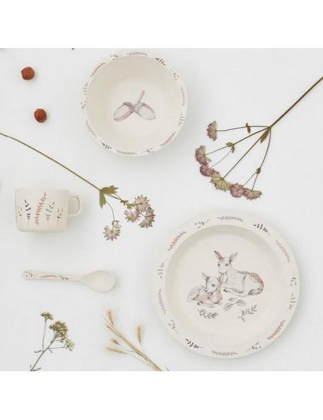 Cam Cam Copenhagen - bamboo dinnerware set, forest theme