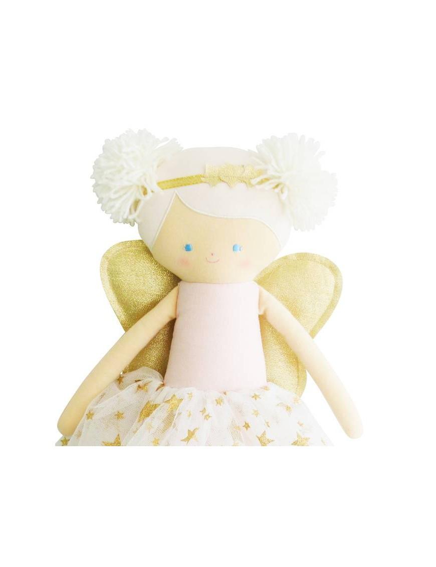 Alimrose Design - Gracie pompom doll (gold star)