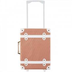 """Olli Ella kids suitcase """"See ya """" - rust"""