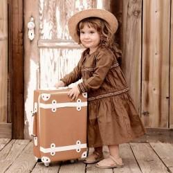 Olli Ella valise rouille SEE-YA