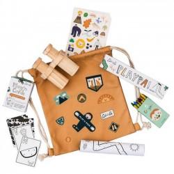"Jeux créatifs : Sac ""Play'n pack"" : jungle - OLLI ELLA"