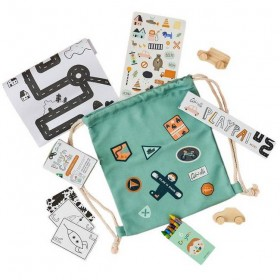 "Sac de jeux créatifs : ""Play'n pack"" : city - OLLI ELLA"