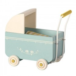 Maileg - pram toy : blue (MY)