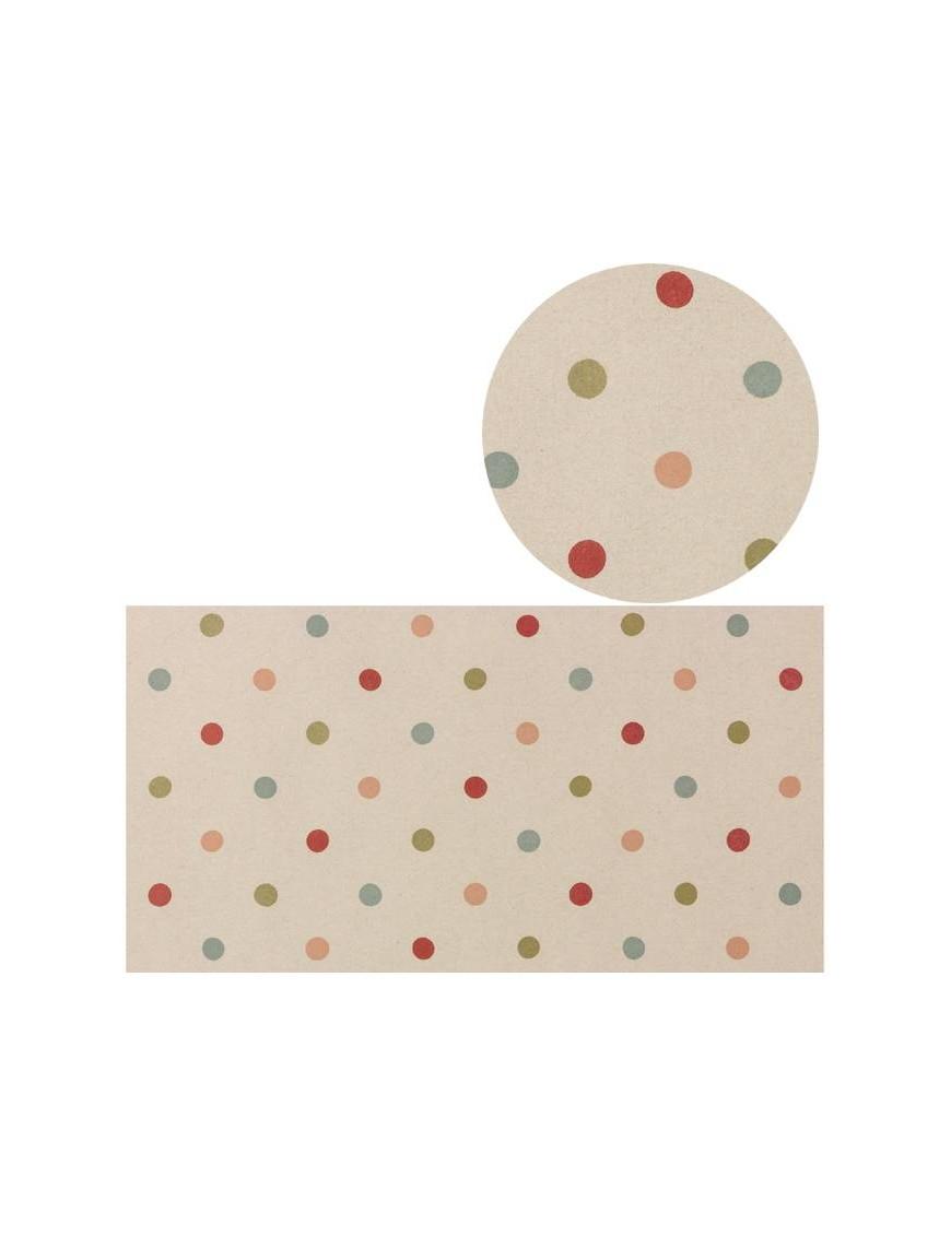 Rouleau de papier cadeaux - Pois multi - MAILEG