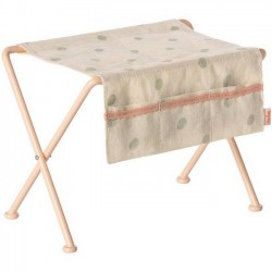 Maileg nursery table (dots fabric)