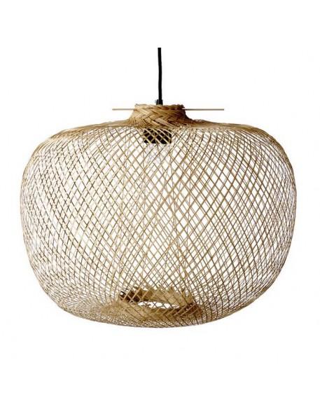 Bloomingville - bamboo pendant lamp Ø42xH30 cm