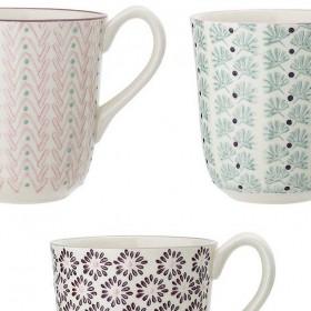 "BLOOMINGVILLE - mug ""Maya"", 3 assort. Ø9cm"