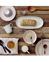 "BLOOMINGVILLE - serving plate ""Maya"", 2 assort. 34cm"