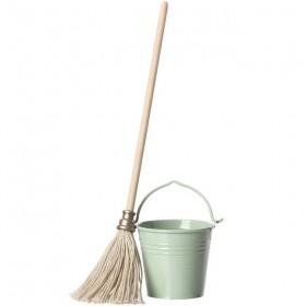 Maileg bucket & mop (mini)