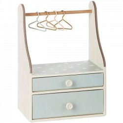 Maileg clothes rack, off-white