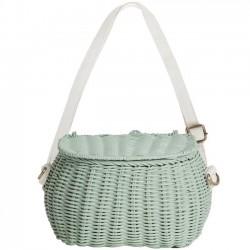 Olli Ella - mini chari bag : mint