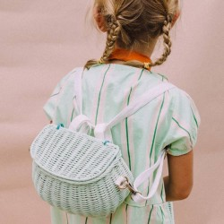 Olli Ella - mini chari bag : mint
