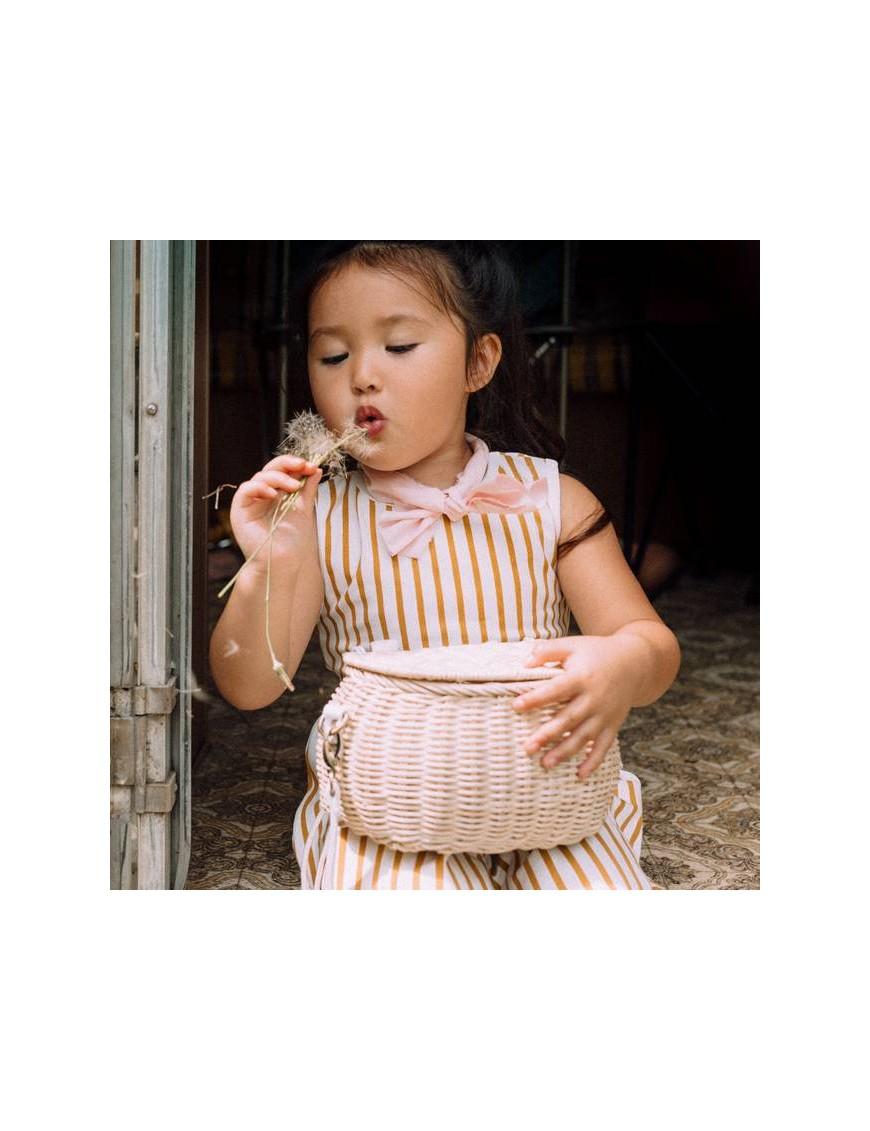 """panier """"mini chari"""" : straw - OLLI ELLA"""