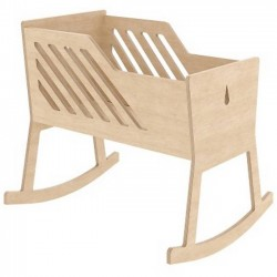 "Baby cradle ""Tuli"", natural - Nuki"