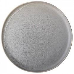 """Assiette grise en grès """"Kendra"""" Ø27,5 cm - Bloomingville"""