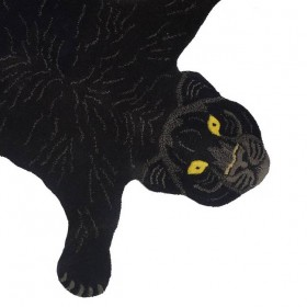 Black panther rug, Doing Goods - small