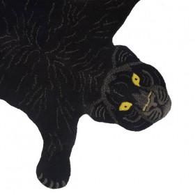 DOING GOODS tapis panthère noire - small