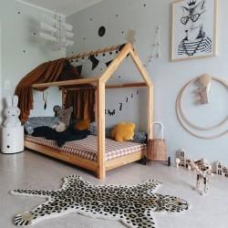 DOING GOODS tapis léopard