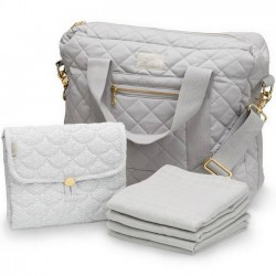 "CamCam Copenhagen - diaper bag package ""grey"""