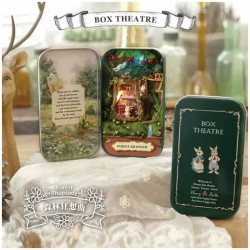 Boîte DIY kit miniature : forêt enchantée