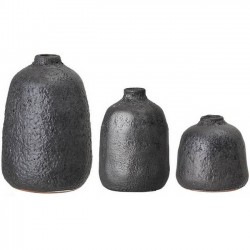 "Bloomingville black vase (x3) ""Terracotta"""